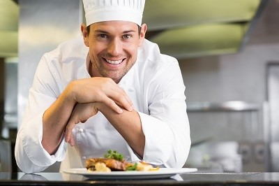 hands-on work as a chef