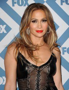 Jennifer Lopez hair coloring technique