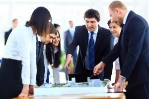Business project manager Planning and Meeting