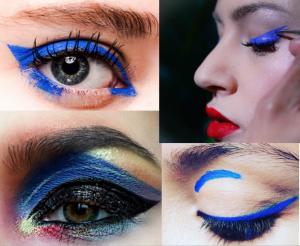 mac - blue - eye makeup - trends - makeup