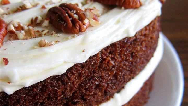 carrot cake by allrecipes