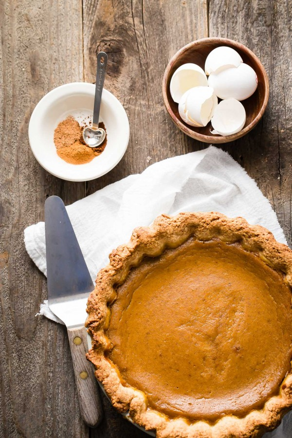 classic pumpkin pie by foodnessgracious