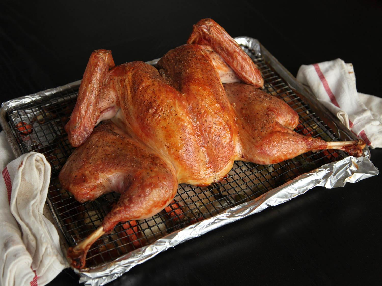 crisp-skinned butterfly roast turkey by seriouseats