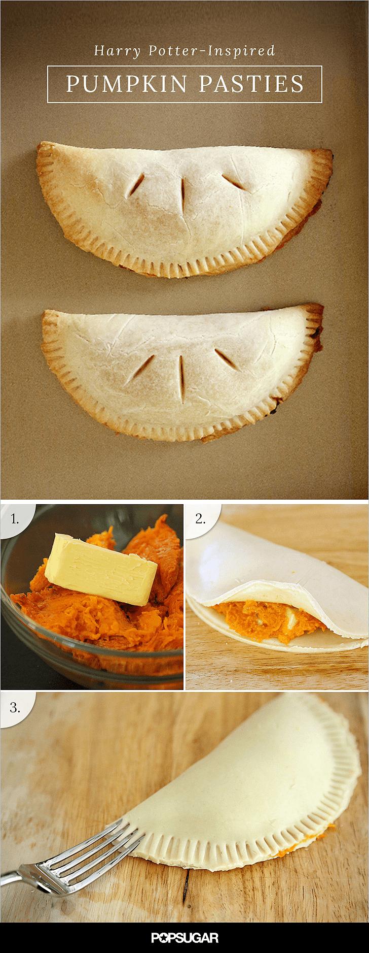 easy pumpkin pasties recipe