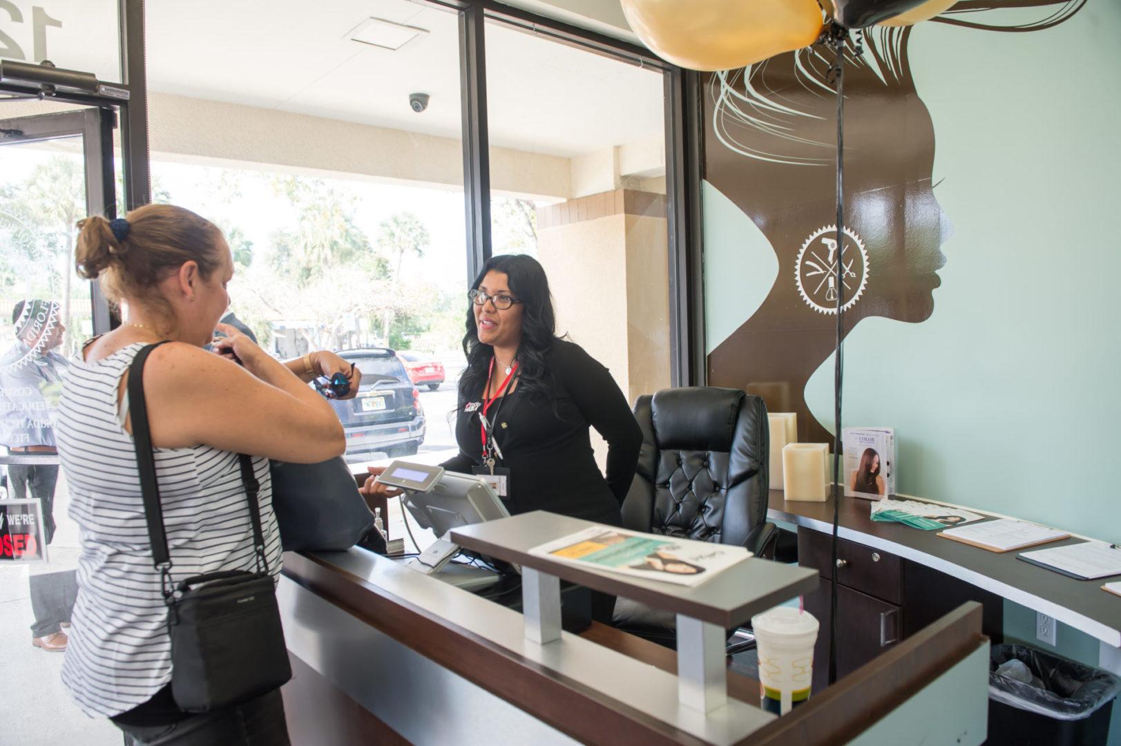 beauty salon opening- FTC Pembroke Pines