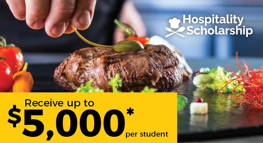 hospitality scholarship - banner post FTC